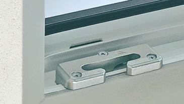 Sicherheits-Drehkippbeschlag und Sicherheitsbänder
