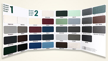 Farbauswahl für Aluminium-Fenster