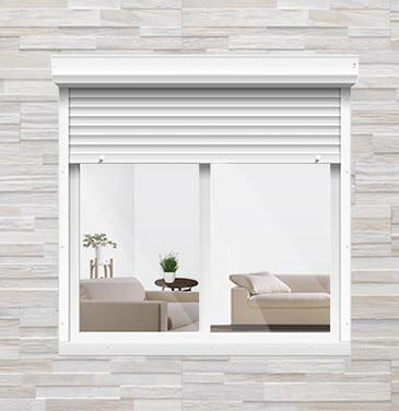 Roller shutters for windows